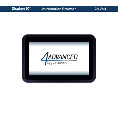 "10"" Multitouch-Panel – Variante 24 VDC & AutomationBrowser"