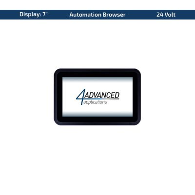 "7"" Multitouch-Panel – Variante 24 VDC & AutomationBrowser"