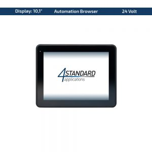 "10,1"" Multitouch-Panel – Variante 24 VDC & Automation Browser"