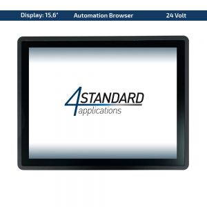 "15,6"" Multitouch-Panel – Variante 24 VDC & Automation Browser"