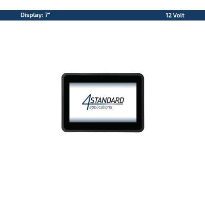 """7"""" Multitouch-Panel – Variante 12 VDC"""