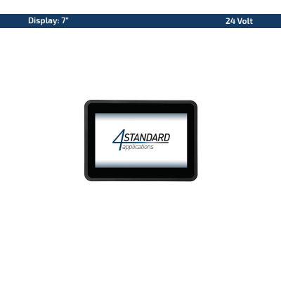 """7"""" Multitouch-Panel – Variante 24 VDC"""