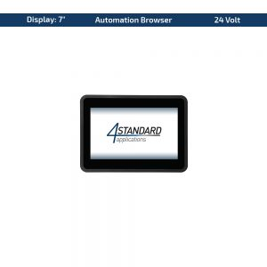 "7"" Multitouch-Panel – Variante 24 VDC & Automation Browser"