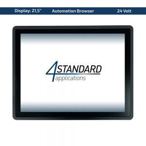 "21,5"" Multitouch-Panel – Variante 24 VDC & Automation Browser"